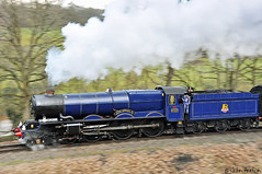 SVR Spring Steam Gala (2018) 17 (Row 17) Tags: england engineering engine shropshire highley svr severnvalleyrailway severnvalley railways railway gwr greatwesternrailway heritagerailway preservedrailway express locomotive locomotives steamlocomotive steamlocomotives steamengine steam kingclass 460 collett touristattraction transport travel train d90 nikon
