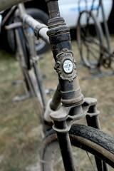 Orient (Shu-Sin) Tags: copake swap meet 2018 waltham manufacturing mass bicycle vintage tandem fork crown bi plane biplane ny new york