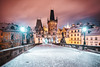 Charles Bridge Night (Jörg Dickmann Photography) Tags: karlovmost travelphotography canon5dsr canon longexposure europe pontecarlo karlsbrücke charlesbridge prague praha praga prag czechrepublic czech