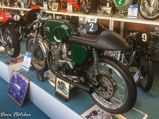 A REG Racing Motorcycle Sammy Miller Museum