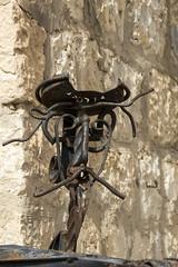 Don Quijote de hierro (kum111) Tags: quixote quijote alcaládeljúcar espagne spain spanien spagna albacete escultura hierro