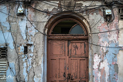 54 - Counting as I travel. (Wits End Photography) Tags: number glass entry decay street cuba havana doorway entrance door portal travelphotography streetphotography opening architecture people building structure places window drive pavement road roadway route