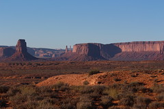 Some more of the Monument Valley rocks from Route 163 in Utah (Hazboy) Tags: hazboy hazboy1 arizona utah monument valley southwest west western us usa america october 2017
