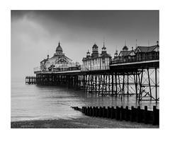 foggy-eastbourne-pier-sussex (jdtphotographycouk) Tags: eastbournepier fog coast sea waves coastalphotography bnw monochrome blackandwhitelandscape uk seaside sussex beach pentax bw