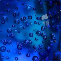Macro Mondays: The Blues (Janos Kertesz) Tags: macromondays theblues blue paperweight murano