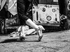 When fashion meets poverty (ms_eyewitness) Tags: streetphotography candid street people telaviv blackandwhite israel realism relations monochrome