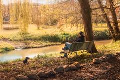 Riverside (Ro Cafe) Tags: river riverside landscape countryside nature milonga koldo quite serene springtime nikkor2470f28 nikond600 bench