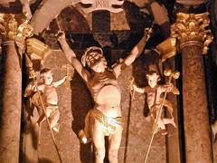 Crucifixion (magellano) Tags: ljubljana lubiana slovenia cattedrale chatedral nicholas nicola crocifissione crucifixion crocifisso crucifix crista christ angelo angel scultura sculpture tenaglia martello pincers hammer