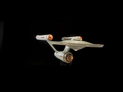 Starship Enterprise (Smithsonian National Air and Space Museum) Tags: star trek ship enterprise models science fiction television series space flight artifacts nationalairandspacemuseum
