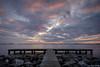 Sunset at Schildmeer (koos.dewit) Tags: nl 2018 fujifilm fujifilmxt2 fujinonxf1024mm groningen koosdewit schildmeer thenetherlands clouds cloudscape jetty koosdewitnl lake landscape seascape sunset