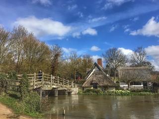 Bridge Cottage, Flatford, Suffolk. Constable country 🎨