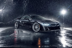 BMW I8 Auto Vault (Richard.Le) Tags: richard le automotive commercial photography bmw i8 sony a7rii full frame wet water rain profoto b1 b1x aristo forged wheels collection vorsteiner special effects adobe photoshop storm like follow popular explore flickr car luxury exotic vehicle electric west sacramento california tag hashtag
