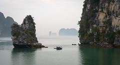 Hạ Long Fishermen (Waldemar*) Tags: asia southeastasia vietnam hạlongbay karst limestone islets isles fishing fishermen southchinasea