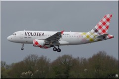 Airbus A319-111, Volotea Airlines, EC-MTL (OlivierBo35) Tags: nantes nte spotting airbus a319 volotea