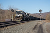 Sunny and 60s (ajketh) Tags: ns norfolk southern emd sd60m sd60i coal freight hopper train railroad signals prr pennsy pennsylvania bright sunny cold middle division huntingdon pa 6785 6720 198
