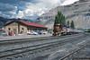 California Zephyr at Helper Station (jamesbelmont) Tags: drgw riogrande amtrak californiazephyr superliner passenger helper utah bookcliffs railway