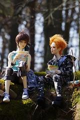 forest hike (niebieski_kot) Tags: ranmaru rosengarden rui iosbody dollegendhands jasiek youpladolls zenji ringdollhands