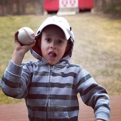 Getting good with his swing. #baseball (sean808080) Tags: ifttt instagram baseball ball child kid boy outside cute family outdoors grass cheerful hat summer son children playful active athlete sport recreation ballplayer exercise