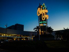 Our travels of the day ended at Cabana Bay after dark (brooklandsspeedway) Tags: universal orlando florida cabanabay