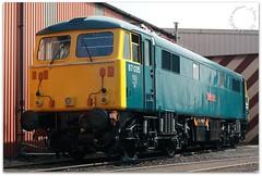 87035 (zweiblumen) Tags: 87035 class87 robertburns train locomotive creweheritagecentre crewe cheshire england uk canoneos50d canonef50mmf14usm polariser zweiblumen picmonkey
