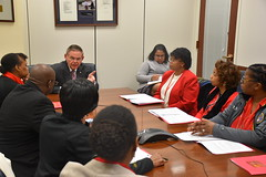 Meeting with NJ Members of the National Black Nurses Association