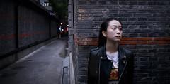 Girl (jsvamm) Tags: ifttt 500px sidewalk pedestrian walkway street alley city long coat underground brooklyn heights hands pockets jacket trench shoulder bag shanghai girl beauty woman pretty asian chinese china