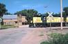 CNW 4539 at St. Onge, SD July 23, 1991 (blupenny99) Tags: cnw chicagonorthwesternrr trains railroads southdakota stongesd crossbuck