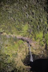 Leaving The Waterfalls (wyojones) Tags: hawaii hiloarea helicopter rainforest hilowatershedreserve waterfall cascade pool falls stream watercourse gully creek river wyojones np