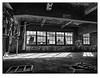Fenêtre sur Port. (francis_bellin) Tags: mars urbex haut danger rouille monochrome fenêtre industriel blackandwhite port noiretblanc montréal froid 2018 fricheindustrielle