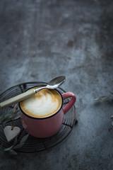 pink-mug-with-coffee (Malgosia Osmykolorteczy.pl) Tags: coffee food foodie foodphoto foodstyling fotografia foodphotography foodporn foodstylist feed mug pink