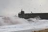 Stormy seas at Ravenscraig Beach  37 (Bill Cumming) Tags: fife kirkcaldy ravenscraig storm waves harbour pier