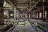 Papier-Grotte (Knee Bee) Tags: paperworks paperfactory industrial abandonedfactory green grün decay urbex