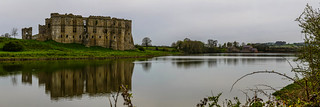 Carew Castle and Carew Tidal Mill No. 4 - Pembrokeshire, Wales