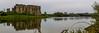 Carew Castle and Carew Tidal Mill No. 4 - Pembrokeshire, Wales (dejott1708) Tags: carew castle tidal mill pond panorama wales united kingdom landscape