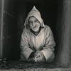 Older man with chilaba. Chefchaouen 2017 (oscarparadela.com) Tags: sepia print copia darkroom silvergelatin ilford ilfordpaper morocco marruecos chefchaouen chefchaouene portrait blackandwhite yashica yashicamat kodak trix trix400 chilaba ishootfilm