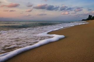 Early morning - Lamai beach