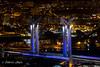 Rouen pont  la nuit -5 (Fabrice Autin Photographe) Tags: france normandie rouen pont flaubert gustave nuit night by autin fabrice