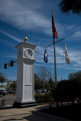 DSC_5301 (Copy) (pandjt) Tags: roadtrip unitedstates usa southcarolina conway conwaysc clocktower cityhall