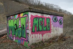 Countryside Art or Arty Graffiti at Shavers End Quarry 16.2017 (3) (wildlifelover69) Tags: countrysideartorartygraffitiatshaversendquarry shaversendquarry thebluelagoon abberleyhill abberley stourport kidderminster worcestershire 1622017 views