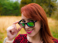 Sweetheart (Noel Alvarez1) Tags: portrait easter sunday red head hair nature people lumix g7 panasonic girl woman