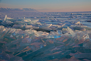 The sea of diamonds - Baikal Lake