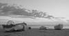 Barcas de Pesca (Tomás Hornos) Tags: sky clouds mar sea playa beach boat barca pesca bote embarcación blancoynegro blackandwhite monocromo cielo horizonte