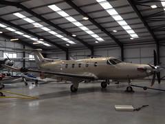 M-YAKW Pilatus PC-12 Limborne Ltd (Aircaft @ Gloucestershire Airport By James) Tags: gloucestershire airport myakw pilatus pc12 limborne ltd egbj james lloyds