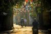 Hoi An, Vietnam 2018 (Ashit Desai) Tags: vietnam hoi an ancient town ashit desai 2018 unesco heritage city people yellow colour conical hat lamps lantern river boat tourist sunset japanese bridge chinese