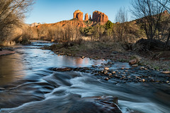 Red Rock Crossing (Jeremy Duguid) Tags: red rock crossing sedona arizona az travel nature river creek water long exposure photography landscape jeremy duguid sony rocks sunset dusk evening southwest southwestern