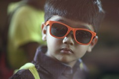 COOL CUB (N A Y E E M) Tags: umar kalam son sunglasses colors portrait availablelight naturallight today morning car light home rabiarahmanlane chittagong bangladesh sooc carwindow uma lulu