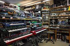 UP BEAT Beauties (upbeat_synthesizer) Tags: arturia novation korg moog roland elektron nativeinstruments universalaudio