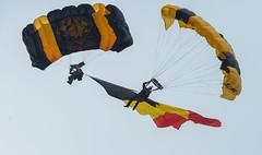 The Golden Knights (Boushh_TFA) Tags: the golden knights us army parachute team 40th international sanicole airshow hechtel belgium eble nikon d600 nikkor 300mm f28 vrii