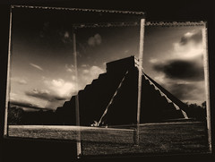 Chichen Itza, Equinox March 21 2018 (Lumière Passagère) Tags: composite overlay pyramid maya mayan snake ritual yucatan mexico shadow god equinox sun meri