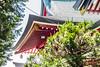 Shinto Shrine Roofwork (ColinParte) Tags: shinto shrine temple japan religion shimmatsudo matsudo koya akagi torii
